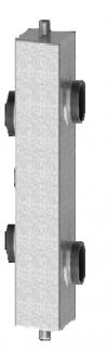 Разделитель гидравлический  Дельта 50